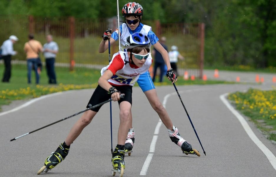 Children's insurance for roller skiing