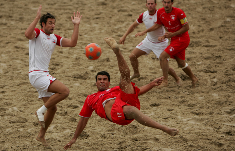insurance for beach football