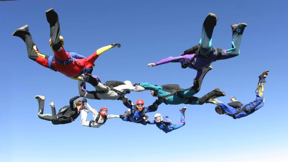 Purchase sports insurance for parachuting