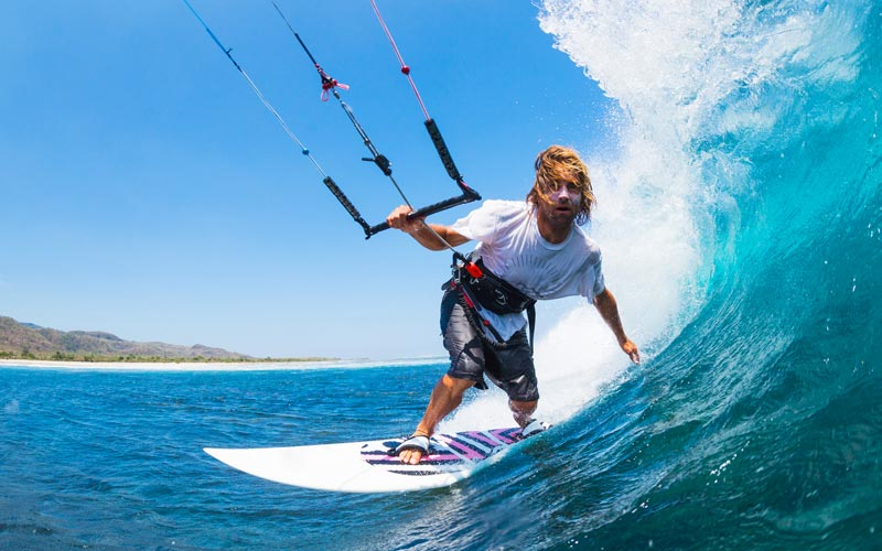 sports insurance policy for kiteboarding